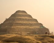 A view of Djoser's Step Pyramid. Shutterstock.