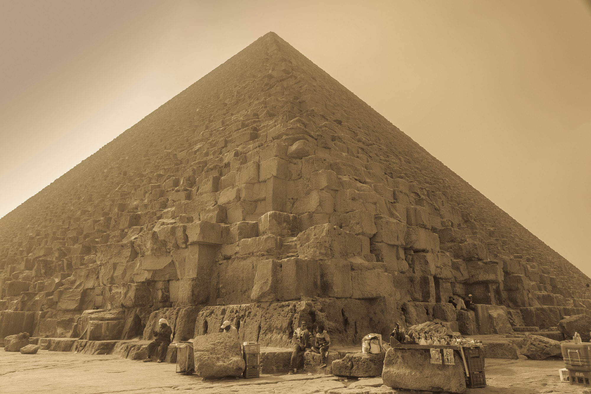 An image of the Great Pyramid of Giza. Shutterstock.